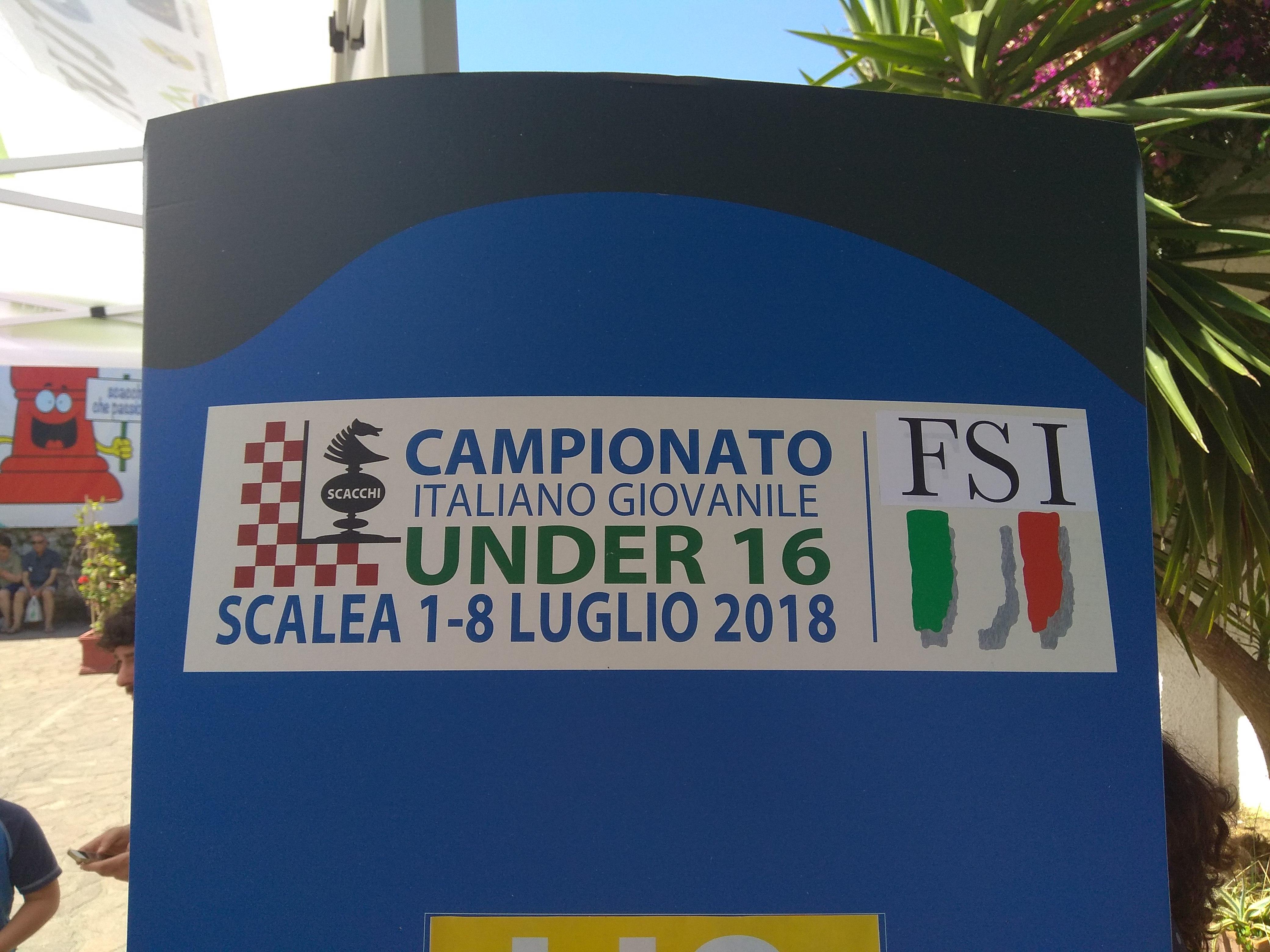 Campionato Italiano Giovanile 2018 – Scalea