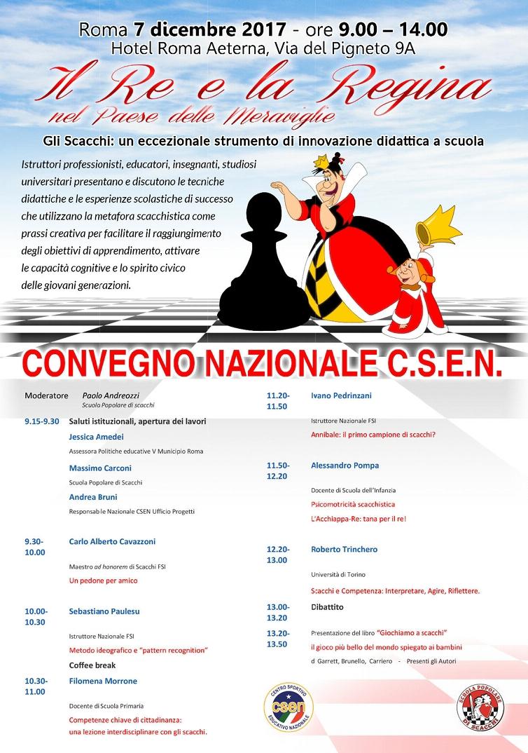 Convegno Nazionale C.S.E.N – 7 Dicembre 2017 ore 9:30 – 14:00