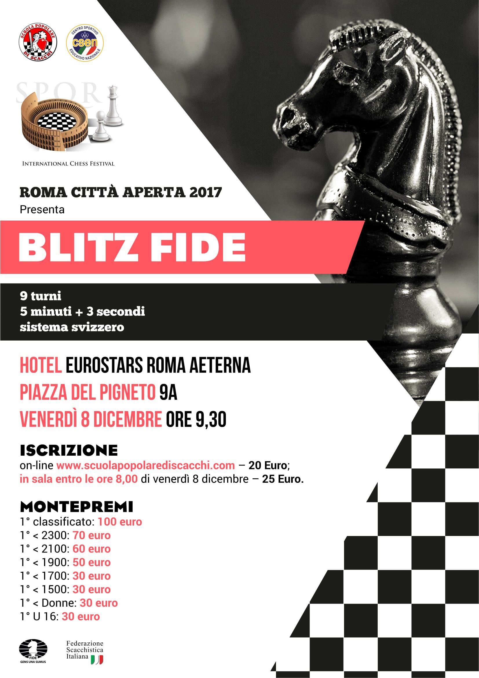 Blitz Fide 8 December 2017