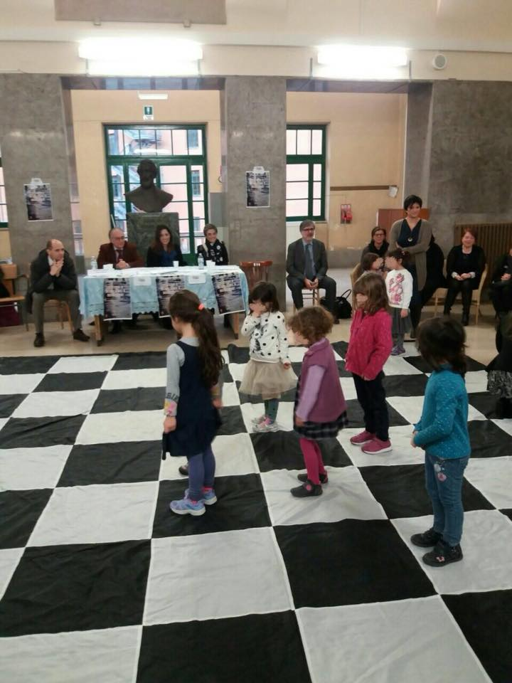 Scacchi a scuola nel Municipio Roma V